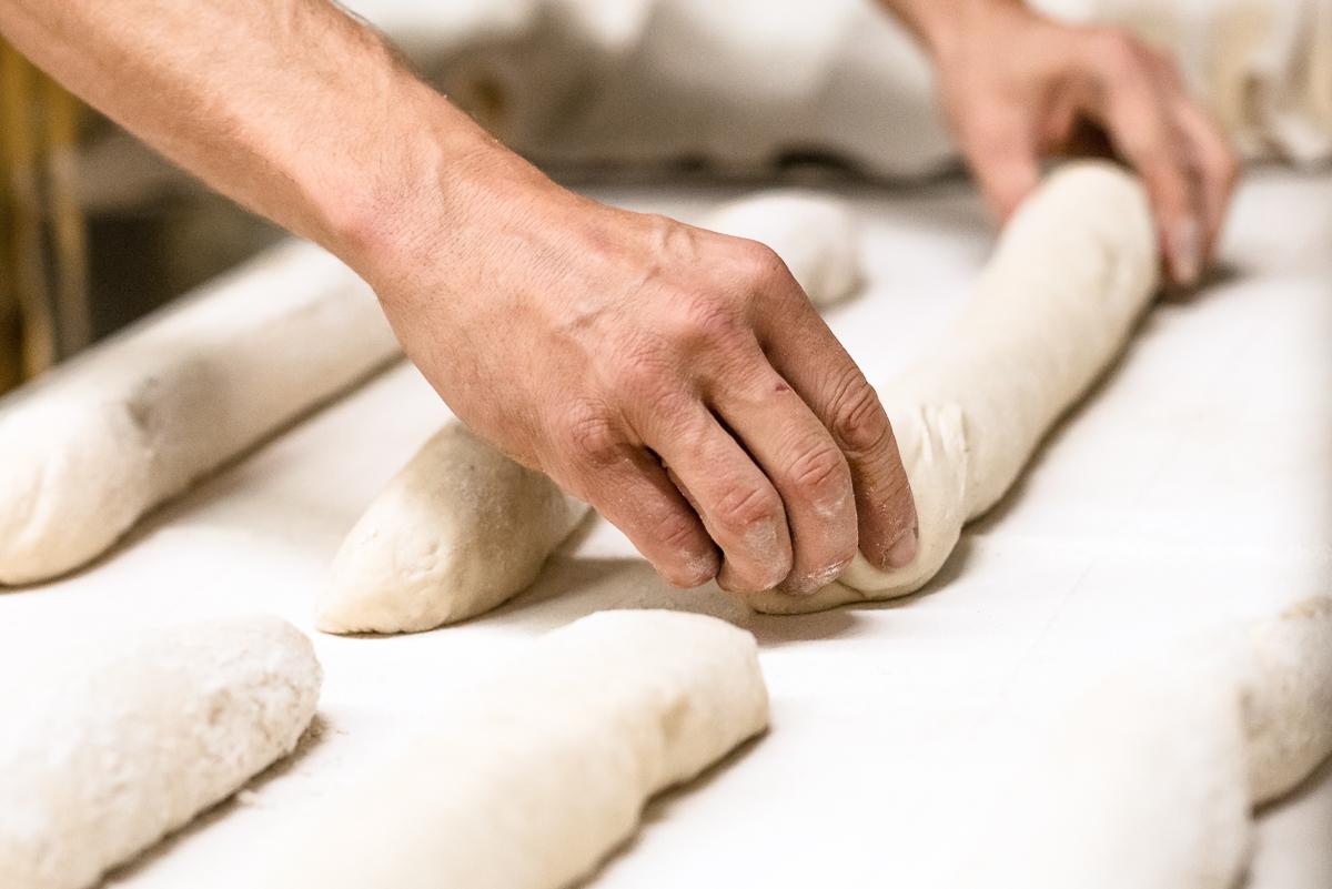 Teig - Backen in der Bäckerei Padeffke